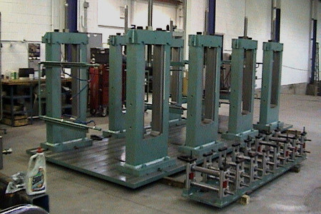 M Series Roll Tooling Stands