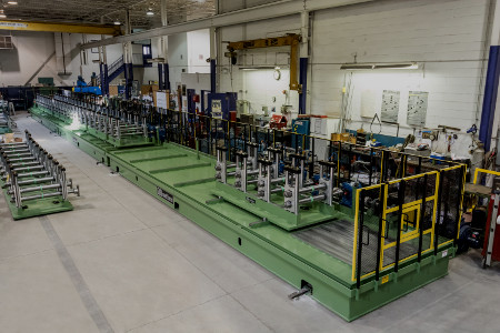 Angle & Channel Roll Forming Lines