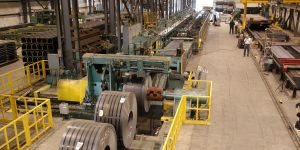 HEAVY GAUGE ROLL FORMING LINE