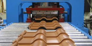 CUSTOM ROOF TILE LINE PRESS SYSTEM