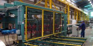 HIGH SPEED STAR WHEEL PANEL STACKER