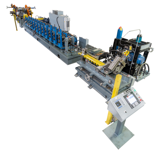 U-Channel and Angles roll forming line metform