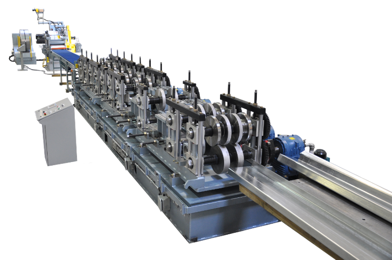 Purlin Roll Forming Lines | QC Purlin Roll Former | 905 670 2057